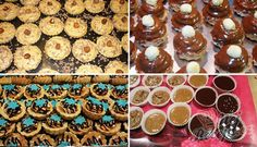 Mini Cheesecakes, Mini Cupcakes, Gingerbread Cookies, Smoothies, Cereal, Baking, Breakfast, Desserts, Food