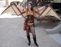 5 Steampunk Wings Tutorials! I like this one.