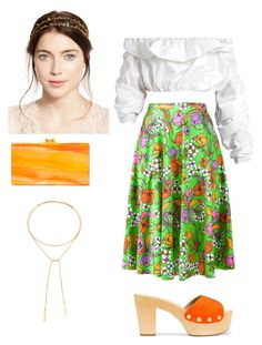 """Untitled #4"" by cjzj on Polyvore featuring Balenciaga, E L L E R Y, Giuseppe Zanotti, Edie Parker, Jennifer Behr and Madewell"