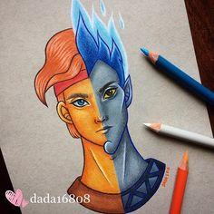 Hercules vs Hades ⚡️#draw #drawing #sketch #doodle #illustration #art #artwork #fanart #disney #instaart #instaartist #dada16808 #hercules #hades #instacolor #picoftheday #photooftheday #artoftheday #goodmorning