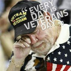 This is a Viet Nam veteran, you can tell, What a horrible time and how badly the US treated them when they came home..Sad sad sad.