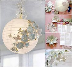 20+ Fabulous DIY Paper Lantern Ideas and Tutorials | www.FabArtDIY.com