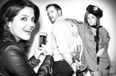 'Arresting Performance!' Last year Eric Martsolf stole the hearts of the Daytime Emmy Voters & made a Clean Break w/ the WIN! Now he's gotta Pay for it! :) @Jen_Lilley, @EricMartsolf and @MollyBurnett of Emmy Award Winning @NBCDays #DaysOfOurLives for #DreamLoudOfficial DreamLoudOfficial.com / Photograph By @Bradley206 #BradEverettYoung / #DreamLoud #JenLilley #EricMartsolf #MollyBurnett #Days #DOOL #EmmyAwards #Winner #OutstandingSupportingActor #Theresa #Brady #Melanie #Sony #A3000