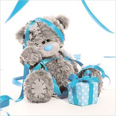 3D Holographic Birthday Streamers Me to You Bear Card  £2.99