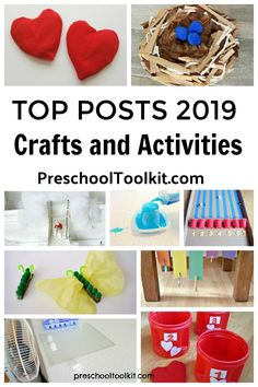 top posts 2019 from Preschool Toolkit List Of Activities, Craft Activities For Kids, Toddler Activities, Crafts For Kids, Valentines Games, Learning Through Play, Play To Learn, Educational Games, Preschool