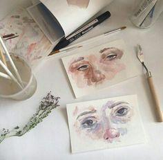 รูปภาพ art, drawing, and soft Landscape Illustration, Illustration Art, Artist Aesthetic, Art Hoe, Pics Art, Art Sketchbook, Art Music, Art Inspo, New Art