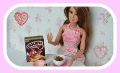 Como fazer Cereais Chocapic para Barbie ♥
