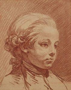 Jean-Baptiste Greuze Portrait d'Alexandre Brongniart, Enfant x 262 mm)