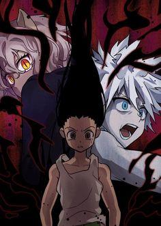 Hunter X Hunter, Anime Hunter, Wallpapers Funny, Animes Wallpapers, D Gray Man Anime, Anime Love, Manga Anime, Anime Art, Hisoka