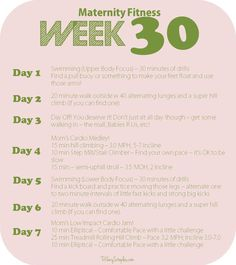 Week-30-Maternity-Pregnancy-Workout-Plan-Fitness-Health-Prenatal-Walking-Swimming-Lifting-Weights-Strength-Training-Tiffany-Staples-He-She-Eat-Clean-Actual-Plan.jpg 975×1,096 pixels