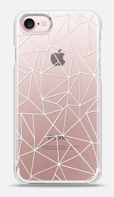 Geometric iphone7 transparent case from Casetify
