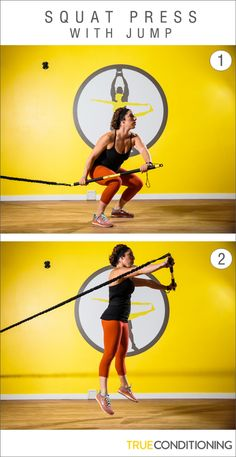 7728f76aded Build explosive power the total body conditioning TRX Rip Trainer Squat  Press -with Jump Trx