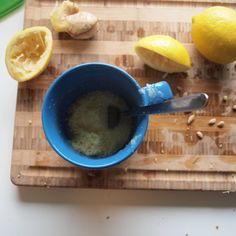 Ginger ale recipe without the high fructose corn syrup. I drink tons of this when I'm not feeling well, so this should be a great substitute this fall.