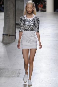 Barbara Bui RTW Spring 2015 [Photo by Dominique Maître]