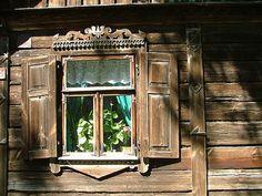Podlasie region, Poland. By Leszek Żądło.Wooden detail.