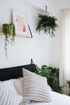 Ikea tête de lit en coussin et idée de mur