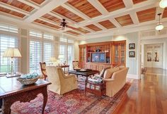 RiverView tropical family room