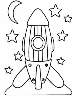 children activities, more than 2000 coloring pages Space Coloring Pages, Coloring Pages For Kids, Coloring Sheets, Coloring Books, Art Drawings For Kids, Drawing For Kids, Easy Drawings, Art For Kids, Space Party