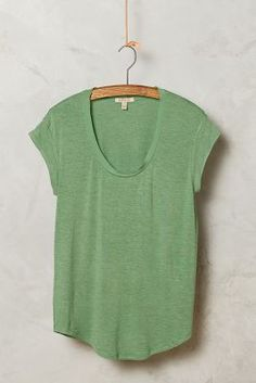 Stitch fix- got this shirt and LOVE IT!  I love the hem cut and the mesh at the neck line adds that little something I look for in my tees. Because I dress so casual I like a little something special in those basic. I also got the chartreuse color. Was thinking about the dark grey too. http://www.anthropologie.com/anthro/product/4112209025882.jsp?color=033&cm_mmc=userselection-_-product-_-share-_-4112209025882