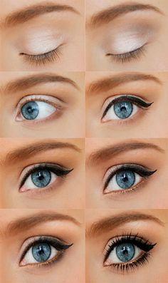 ojos pintados +