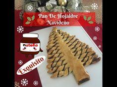 Pan De Hojaldre Navideño Con Nutella Delicioso - YouTube
