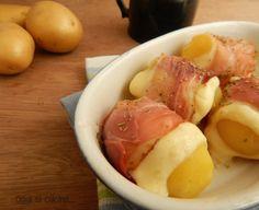 Bocconcini di patate con speck e formaggio
