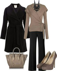 Take a look at the best appropriate business attire in the photos below and get ideas for your work outfits! 5 Outfits to Wear for an Interview: If you're interviewing for a corporate job (law firm, real estate, public relations,… Continue Reading → Office Outfits Women, Mode Outfits, Casual Outfits, Fashion Outfits, Fashion Trends, Woman Outfits, Fashion Ideas, Business Attire, Business Fashion