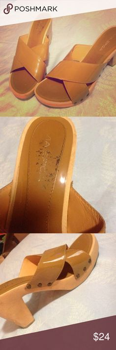 Via spiga sandals Great condition other than rubbing in the inside. Via Spiga Shoes Sandals