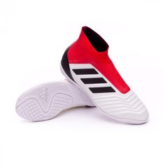 New adidas Predator Tango 18+ IN football boots in White-Core black-Real 339f09fb775c8
