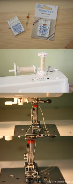 megan nielsen design diary: basic guide to sewing with stretch fabrics