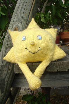Soleil tricot DIY modele tuto gratuit