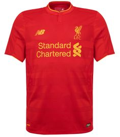 Revealed: Liverpool FC's brand new home kit for 2016-17 - Liverpool FC