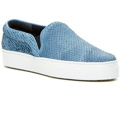 Schutz Amisha Platform Slip-On Sneaker (285 BRL) ❤ liked on Polyvore featuring shoes, sneakers, jeans, schutz shoes, leather sneakers, platform trainers, leather slip on shoes and platform slip on sneakers
