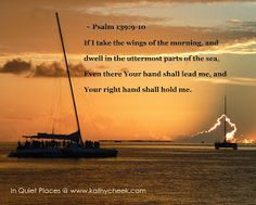 In Quiet Places: God Is Holding You