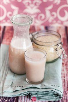 Mleko ryżowe - proste, tanie i domowe. #przepis na mleko ryżowe z naturalnymi…