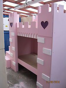 Princess Castle Bunk Beds by Dream Roomz Limited | eBay