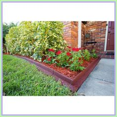 Balcony Plants rubber-#Balcony #Plants #rubber Please Click Link To Find More Reference,,, ENJOY!! Brick Landscape Edging, Landscaping Edging, Barn Door Window, Landscape Sketch, Balcony Plants, Balcony Railing, Black Kitchens, Cool House Designs, Sidewalk