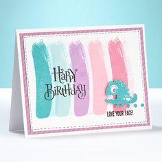 Love Your Face Birthday Card