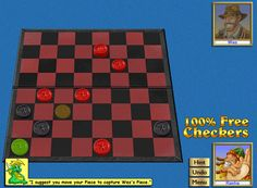 Free Checkers - Jump To Revisit this Timeless Classic! Invite, Invitations, Egyptians, Timeless Classic, Statistics, Online Games, Getting Old, Free Games, Software