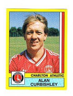 Alan Curbishley of Charlton Athletic - Football 87 - Panini - English & Scottish Leagues Charlton Athletic, Football Season, Baseball Cards