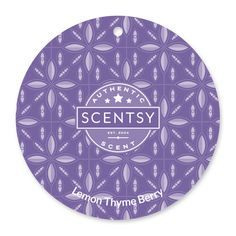 Lemon Thyme Berry Scentsy Scent Circle $3.  Sparkling lemonade and strawberry sprinkled with crushed thyme.