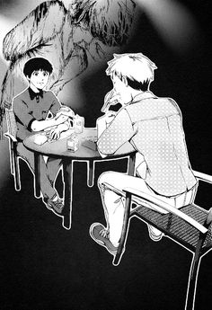 """""""remember me as vivid as I used to be…"""" Hide and Kaneki"""