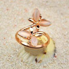 $3.35 Elegant Butterfly Shape Women's Opal Ring