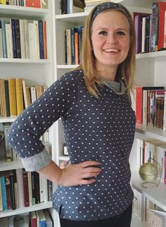 Charlotte's Coco top - sewing pattern by Tilly and the Buttons