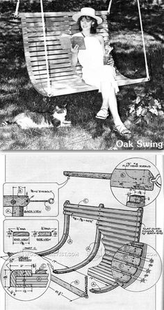 DIY Porch Swing - Outdoor Furniture Plans and Projects | WoodArchivist.com