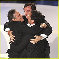 Jon Stewart. Stephen Colbert. Steve Carrell