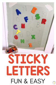 20 FREE alphabet activities for kids. These are great for toddlers through prek preschool age all the way to literacy centers for kindergarten! Use these fine motor sensory games and art projects in your classroom or at home. #finemotor #abcactivities