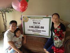 Congratulations Tria Lo from Sacramento, CA!