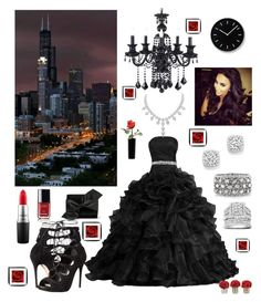 """""""My Style of Elegance XOXO """" by kotnourka ❤ liked on Polyvore featuring Bloomingdale's, Mark Broumand, Kobelli, Alexander McQueen, Victoria Beckham, MAC Cosmetics, Chanel, Lemnos, women's clothing and women"""