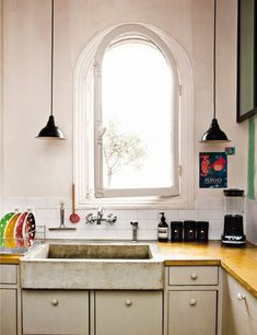 A bohemian style apartment in Paris - kitchen